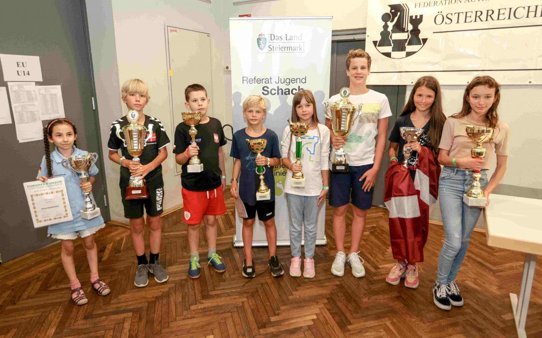 18. Jugendschach-meisterschaften der Europäischen Union und 27. Internationales Jugendschach-Open der Steiermark